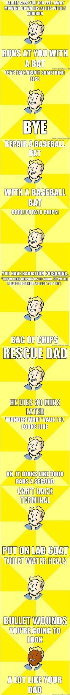 Fallout logic.  // funny pictures - funny photos - funny images - funny pics - funny quotes - #lol #humor #funnypictures