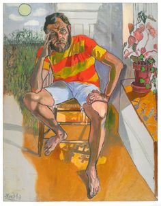 Richard Gibbs by Alice Neel 1968
