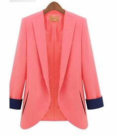 #Buy #Price : Rs 2999 & US$ 67 #Light #Pink And #Navy #Blue #Blazer @ArtistryC.in #Clothes #Fashion #Women http://artistryc.in/productdetails.aspx?page=brands&&procode=APR-00992&&scat=ASCAT-00009