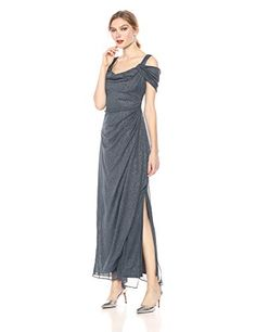 Alex Evenings Womens Long Cold Shoulder Dress Petite and Regular Sizes Smoke 4 ** Continue to the product at the image link. (This is an affiliate link) Petite Long Dresses, Formal Dresses For Women, Sequin Evening Dresses, Beaded Prom Dress, Blush Bridesmaid Dresses, Alex Evenings, Long Sleeve Midi Dress, Cold Shoulder Dress, Party Dresses