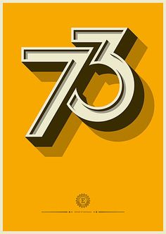 Creative Typography, Lettering, Jpg, and 565 image ideas & inspiration on Designspiration Cool Typography, Typography Poster, Graphic Design Typography, Typography Letters, Number Typography, Typography Images, Number Logos, Number Calligraphy, Number Posters