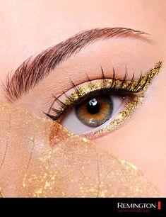 Dale brillo a tus ojos con este delineado único ¡Un pop de color en tu mirada! 💥 Jitter Glitter, Eyes