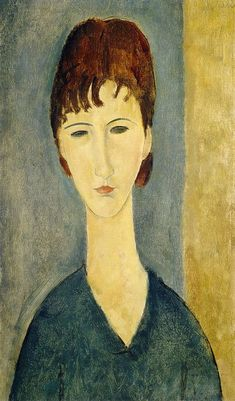 Portrait Of A Young Woman, C.1918 by Amedeo Modigliani