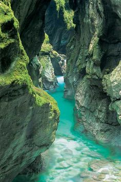 Soca River, Great Gorge