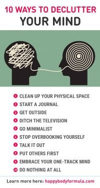 10 Ways To Declutter Your Mind - Do you ever feel overwhelmed, stressed and unable to focus or make decisions. Chances are your mind is too cluttered. Here are 10 simple ways to clear up your mind and find your inner zen. health_tips, motivation, Putting Others First, Declutter Your Mind, Mental Training, Mindfulness Meditation, Mindfulness Quotes, Meditation Music, Mindfulness Benefits, Inspiration Quotes, Parapsychology