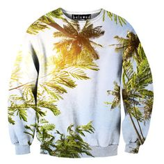 Palm Trees Sweater Unisex from Beloved Shirts (www.belovedshirts.com). From screaming goats to juicy cheeseburgers, Beloved Shirts creates seriously silly sweatshirts that'll make your heart sing. Using a super-special sublimation printing technique that allows intensely vivid photographic images to be printed onto fabric, this innovative brand lets you realize the dream of wearing incredibly lifelike renditions of your very, very favorite things. $59 (retail price $79.00)