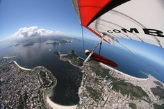 Paragliding in Rio De Janeiro...hoping Joanna Danger and Jorge will meet up with us for this adventure!