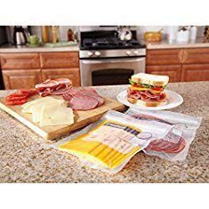 Foodsaver Freezer Bags. FoodSaver FSFSBF0226-FFP Bags with Unique Multi Layer Construction Vacuum Sealers, 44 Quart Size Bags, Clear.  #foodsaver #freezer #bags #foodsaverfreezer #freezerbags
