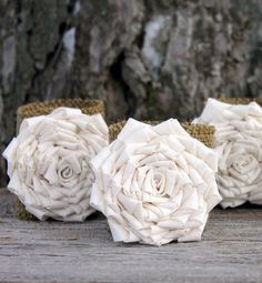 Best Party Accessories Under $20: For a rustic touch, wrap burlap napkin rings around the table linens to kick the party up from casual to chic.    SHOP NOW: Burlap Flower Napkin Rings set of 4, $20