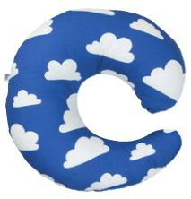 Blue Cloud Breastfeeding Pillow –  Gunila Axen designed the Moln Cloud pattern in 1967 and it has become one of the most enduring Swedish designs. Make feeding time a joy with this fantastic retro breastfeeding Pillow with quirky cloud design. Available at www.babycompany.co.uk