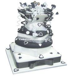 Wedding Parcels Wedding Cake