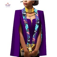 Online Shop African Women Clothing Full Sleeve Cape Coat Dress Suit African Tops 2 Piece Set Party Dresses Winter Dress Women Clothes WY552 | Aliexpress Mobile