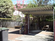 Te Tiriti Lodge Outdoor BBQ area Bay Of Islands, Bbq Area, Home And Away, Backpacking, Pergola, Outdoor Structures, Explore, Beach, Backpacker