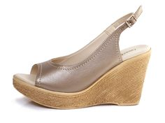UberGruvi Genuine Leather Medium Wedge Heel Sandal - Metallic Pewter. R 799. Handcrafted in Cape Town, South Africa. Code: MAYA 01 Pewter See online shopping for sizes. Shop online https://www.thewhatnotshoes.co.za Free delivery within South Africa