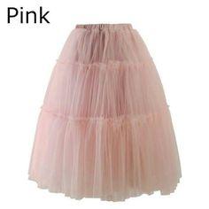 『ピンクチュールスカート ★』
