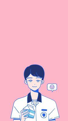 Min A-teen webdrama wallpaper Character Illustration, Graphic Illustration, Teen Web, Teen Images, Teen Wallpaper, Web Drama, Kawaii, Cute Backgrounds, Japanese Graphic Design