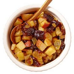 ... sauces with apples prunes golden raisins candied ginger sugar apple