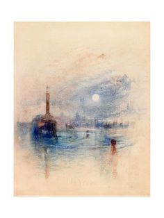 Joseph Mallord William Turner 'Margate', - Watercolour and graphite on paper - Dimensions Support: 211 x 184 mm - © Board of Trustees of the National Museums and Galleries on Merseyside Lady Lever Art Gallery, Turner Watercolors, Turner Painting, Joseph Mallord William Turner, Find Art, Les Oeuvres, Landscape Paintings, Watercolor Art, Abstract Art
