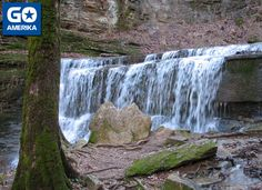 Jackson Falls. Natchez Trace Parkway, Mississippi  | Amerika - Deep South - Tennessee - The Natchez Trace Parkway, TN Natchez Trace, Mississippi, Tennessee, Waterfall, Jackson, Deep, Places, Outdoor, Outdoors