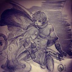 Drawn by @greenteagoodness on instagram