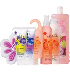 Avon: Limited Edition 7-Piece Blossoms Collection.  Indulge in a spa-like experience in the comfort of your home.  $14.99  Order at http://harvin.avonrepresentative.com