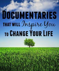My husband and I have been on a documentary kick lately so I'm branding myself as the newest expert on inspirational documentaries. We've only watched what's available on Netflix, so I'm sure there may be some more out there, but these definitely stuck with us well after we were done watching.