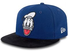The Retro Donald Duck snapback cap turns back the clock to the earliest years of Disney's history. This cap is offered in a two tone color way. Men's Hats, Caps Hats, Five Panel Cap, Little Man Style, Best Caps, Cute Caps, New Era Fitted, Hip Hop Hat, New Era Hats