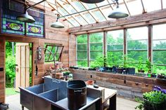 A POTTING SHED OF MEMORIES http://www.thecottagejournal.com/a-potting-shed-of-memories/