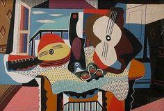 Picasso – Mandoline et guitare, 1924