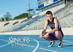 Track sprinter senior picture idea - sports senior picture ideas - seniors by photojeania Field Senior Pictures, Couple Senior Pictures, College Senior Pictures, Country Senior Pictures, Senior Pictures Sports, Senior Picture Outfits, Senior Photos, Senior Portraits, Senior Posing