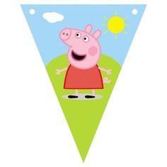 Banderín Peppa Pig - Comprar en almacén diseño