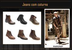 Combine o seu Jeans Farump com um coturno estiloso para aproveitar o fim de semana!