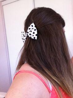 I love this bow so much! Bows, My Love, Creative, Hair, Color, Style, Fashion, Colour, Moda