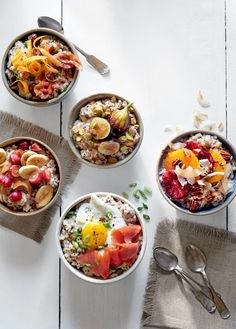 Slow-Cooker Whole-Grain Porridge - CountryLiving.com