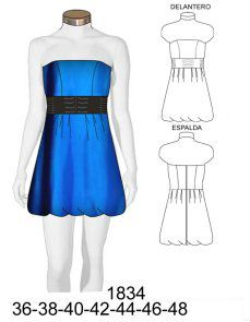 un lindo vestido en corto Sewing Patterns Free, Clothing Patterns, Free Pattern, Formal, African, Clothes For Women, Drawing, Fashion, Funky Dresses