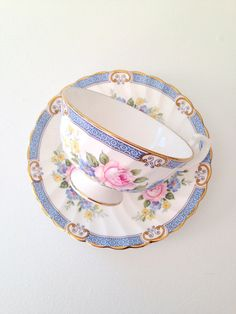 Vintage Windsor English Fine Bone China Teacup by MariasFarmhouse