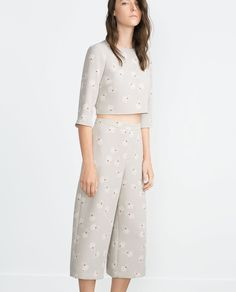 Image 1 of CROP TOP from Zara