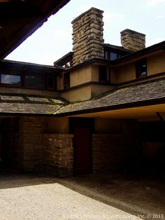Taliesin ~ Spring Green, Wisconsing ~ Frank Lloyd Wright