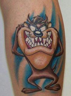 Tazz tattoo design 02