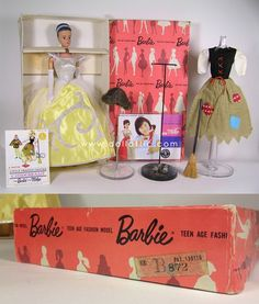 "TGIF Dolls! We promise, we deliver! Here is our last Auction #44 Sneak Peek. How incredible is this Japanese Exclusive Dressed Box Midge in Cinderella. WOW!! We have shared ""some"" of the most incredible dolls ever, but wait there is MORE that we haven't shared! Make sure to order your Auction Catalog which not only will serve as a mouth watering reference book, but will be a great addition to your Barbie library! www.dollattic.com:"