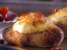 Get this all-star, easy-to-follow Sunny's Twice Baked Potatoes recipe from Sunny Anderson.