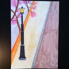 【markus.andf】さんのInstagramをピンしています。 《A street with a bit of nature! #drawing done on #paper with #pencil and #markers. #street #vintage #streetlightsaturday #sidewalk #road #cherryblossoms #tree #colorful #colourpop #popart #artpop #arts #artwork #artsy #artsy #drawingoftheday #markerart #kunst #norskkunst #artspotlight #flowers #kunstner #colourful #arte #illustration #instapicture #blomster》