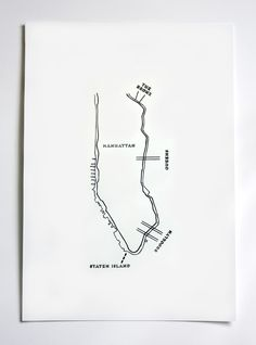 hey jo! design / map of nyc
