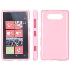 Soft Shell (Rosa) Nokia Lumia 820 Deksel Shells, Messages, Phone, Cover, Conch Shells, Conchas De Mar, Telephone, Sea Shells