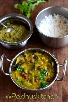 Padhuskitchen: Brinjal Kootu Recipe-Kathirikai Kootu-Tamil Brahmi...