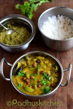 Kathirikai Kootu-Tamil Brahmin Style-Brinjal Kootu