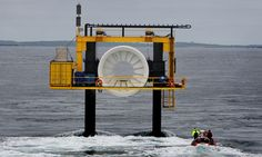 """The Orkney islands with tidal energy have become a very promising, 'green energy powerhouse'! Quote from the Guardian UK site: """"Orkney has quietly but very deliberately become arguably the most self-sufficient community in the British Isles for its energy, and is home to many of the world's most advanced wave and tidal power machines"""". Have a look."""
