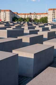 The Memorial to the Murdered Jews of Europe or Holocaust Memorial is amongst the top things to do in Berlin. Here are a few things you should know before going. Berlin Travel, Germany Travel, Places To Travel, Places To See, Dresden Germany, Egypt Art, Holocaust Memorial, Europe, Luxor Egypt