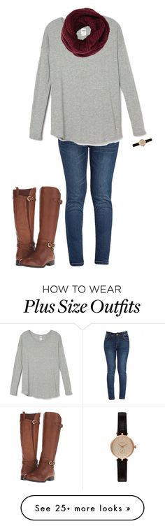 """""""Untitled #2"""" by haley-swanigan on Polyvore featuring BCBGMAXAZRIA, Naturalizer and Barbour"""