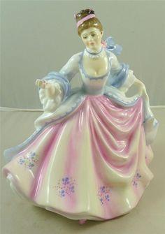 Royal Doulton Bone China Lady Figure Figurine REBECCA HN 2805 Glass Dolls, Little Ballerina, My Fair Lady, Waterford Crystal, Collectible Figurines, Royal Doulton, Royal Albert, Porcelain Ceramics, Fine China